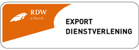 Sticker export dienstverlening